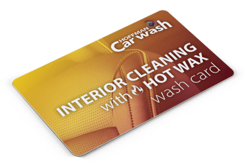 Ultimate Interior Cleaning and Hot Wax Wash Card
