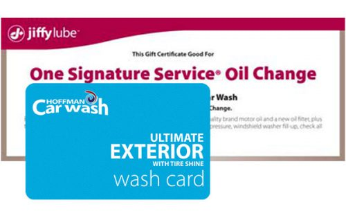 Signature Service Oil Change and 2 Exterior Car Washes