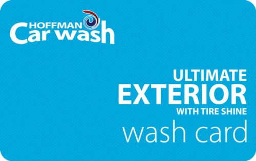 Ultimate Exterior with Tire Shine Wash Card
