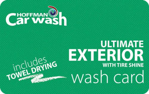 Ultimate Exterior with Tire Shine and Towel Drying Wash Card