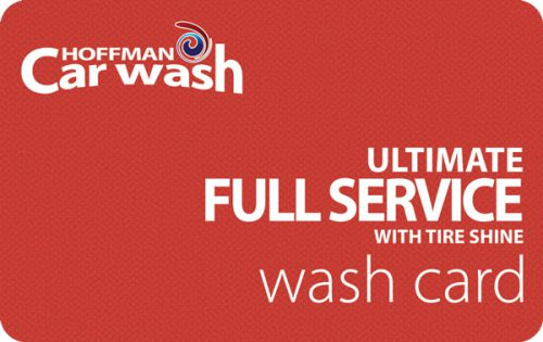 Ultimate Full Service with Tire Shine Wash Card