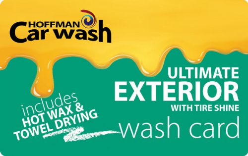 Ultimate Exterior with Tire Shine, Hot Wax and Towel Drying Wash Card