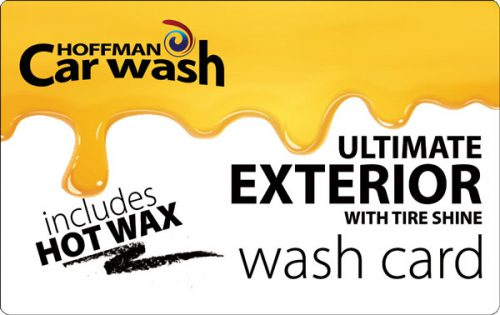 Ultimate Exterior with Tire Shine and Hot Wax Wash Card