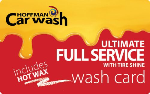 Ultimate Full Service with Tire Shine and Hot Wax Wash Card