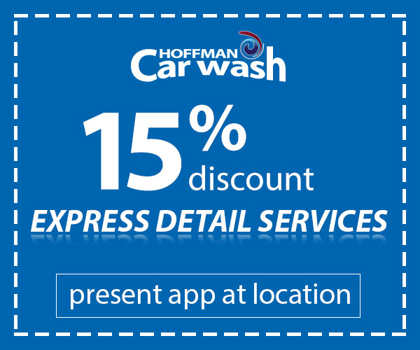 15% Off Express Detailing Services
