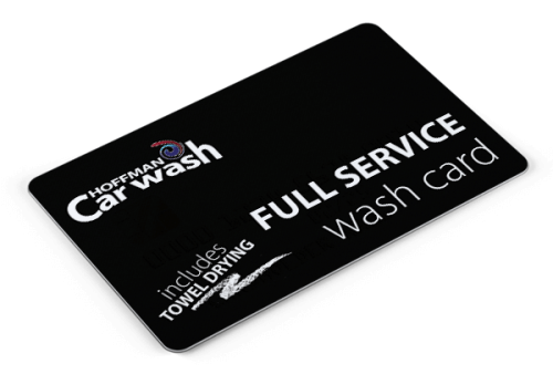 Full Service Wash Card